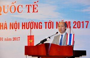 """Hội thảo quốc tế """"Thị trường BĐS nhà ở Hà Nội hướng tới 2017"""" thành công tốt đẹp"""