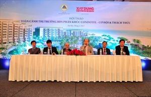 Bộ Xây dựng trả lời Hiệp hội BĐS Việt Nam về những kiến nghị đối với loại hình BĐS Condotel ven biển