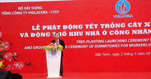 Viglacera khởi công xây nhà ở cho 4.000 công nhân khu công nghiệp Yên Phong