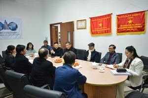 Chủ tịch VNREA tiếp đoàn Hiệp hội Bất động sản Bắc Giang