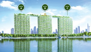 Căn hộ sinh thái 5 sao tiêu chuẩn Leed đầu tiên tại Sài Gòn
