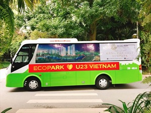 Ecopark mở đại tiệc bóng đá miễn phí trong trận chung kết giải U23 châu Á