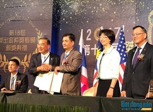 Hội Môi giới BĐS Việt Nam ký kết hợp tác với Hiệp hội Môi giới BĐS Đài Loan