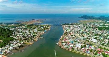 Vẻ đẹp Hà Tiên, thành phố 2 tháng tuổi của Kiên Giang
