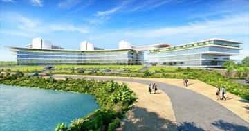 Động thổ dự án Tổ hợp Y tế, chăm sóc sức khoẻ CN cao đầu tiên tại Việt Nam