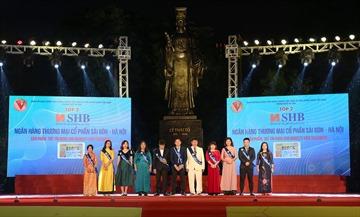 """SHB được vinh danh là """"Doanh nghiệp kết nối dịch vụ tài chính Asean tiêu biểu"""""""