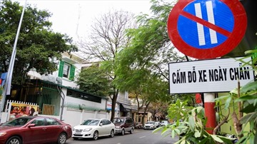 Đà Nẵng bổ sung thêm 11 đoạn, tuyến đường cấm đỗ xe theo ngày chẵn - lẻ