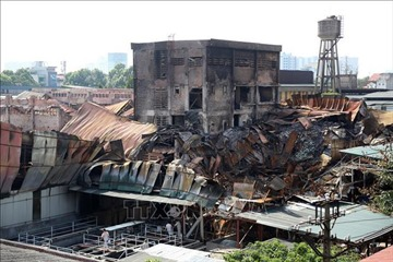 Thủ tướng chỉ đạo xử lý hậu quả vụ cháy ở Công ty Rạng Đông