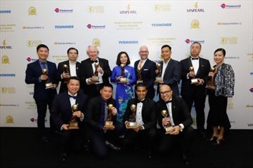 """""""Bão giải thưởng du lịch quốc tế"""" dành cho các công trình của Sun Group"""