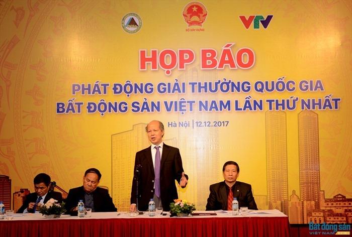 Giải thưởng Quốc gia Bất động sản Việt Nam lần I có hạng mục Dự án Công trình Xanh tốt nhất