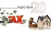 Sửa đổi Nghị định 20: VNREA kiến nghị Thủ tướng chỉ đạo việc cho phép hồi tố