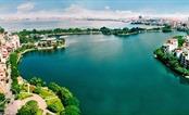 Hồ Tây lao xao hoài con sóng