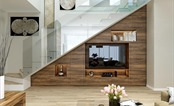 Thiết kế thông minh biến hóa tối đa diện tích chân cầu thang cho ngôi nhà bạn