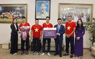 TPBank tặng thưởng 2 tỷ đồng cho đội tuyển bóng đá Việt Nam