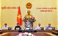 Ủy ban Thường vụ Quốc hội khai mạc Phiên họp thứ 34