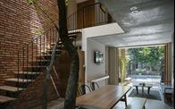 Thiết kế thông minh giúp ngôi nhà 2 tầng ở Đà Nẵng chống lại nắng nóng