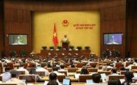 Quốc hội nghe báo cáo giải trình, tiếp thu và thảo luận 2 dự án Luật