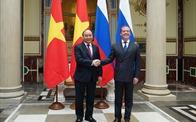 Thủ tướng Việt Nam và Nga khẳng định năng lượng là trụ cột hợp tác quan trọng