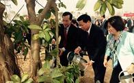 Bộ trưởng Phạm Hồng Hà dự lễ phát động Tết trồng cây Xuân Đinh Dậu 2017 tại khu công nghiệp Yên Phong, tỉnh Bắc Ninh