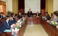 Bộ trưởng Bộ Xây dựng Phạm Hồng Hà làm việc với ngành xây dựng Yên Bái