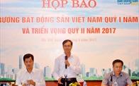 Hiệp hội BĐS Việt Nam công bố số liệu thị trường BĐS quý I/2017