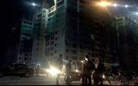 Sập giàn giáo dự án Mường Thanh, 3 người bị thương