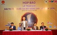 Ngày mai (14/4) trao giải Giải thưởng Quốc gia Bất động sản Việt Nam 2018