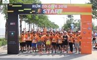 3.000 người tham gia chạy từ thiện Run to Give 2018 tại Khu đô thị Vạn Phúc