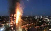 """""""Thùng thuốc súng"""" từ tòa chung cư xã hội 27 tầng ở Anh"""