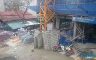 Hà Nội: Sập giàn giáo tại dự án Eco Green Tower, 2 người tử vong