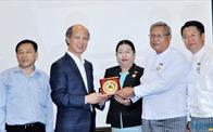 Lãnh đạo Hiệp hội BĐS Việt Nam làm việc với Hiệp hội Phát triển BĐS Myanmar