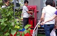 Mất nước đột ngột, cư dân HUD3 Linh Đàm phải dùng nước cứu hỏa