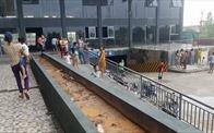 Chập điện gây cháy tại tòa nhà T2 Thăng Long Victory, cư dân hoảng sợ bỏ chạy