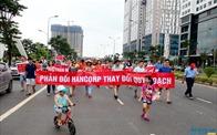Cư dân phản đối chủ đầu tư Hancorp thay đổi quy hoạch KĐT Ngoại giao đoàn
