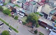 """Hà Nội: Cưỡng chế công trình """"xẻ thịt"""" dự án bãi đỗ xe"""