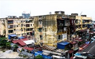 Phá bỏ, xây dựng lại hàng loạt chung cư cũ, nguy hiểm ở Hải Phòng