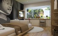 Mẫu nội thất căn hộ studio 20m2 đẹp dành cho người độc thân ở Hà Nội