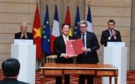 Tập đoàn T&T và Bouygues (Pháp) ký biên bản ghi nhớ đầu tư dự án đường sắt đô thị số 3