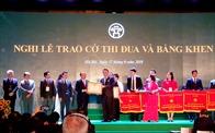 Tân Hoàng Minh đón nhận bằng khen của Thủ tướng Chính phủ trong dịp kỷ niệm 25 năm Thành lập Tập đoàn