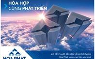 Hòa Phát tiếp tục thăng hạng trong Top 500 doanh nghiệp lớn nhất Việt Nam