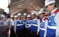 Thủ tướng thị sát dự án tuyến metro đầu tiên của TP.HCM