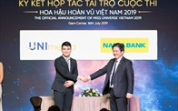 Nam A Bank chính thức đồng hành xuyên suốt cùng cuộc thi Hoa hậu Hoàn vũ Việt Nam 2019