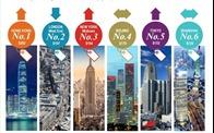 """Các thành phố lớn tại Châu Á """"chiếm lĩnh"""" top 10 thị trường văn phòng đắt đỏ nhất thế giới"""