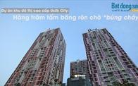 """Dự án Usilk City: Hàng trăm tấm băng rôn chờ """"bùng cháy"""""""
