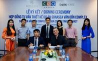 Tập đoàn CEO ký kết hợp đồng tư vấn thiết kế dự án Sonasea Vân Đồn Complex cùng Dark Horse