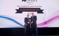 Bac A Bank giành giải thưởng quốc tế vì tiên phong tư vấn đầu tư nông nghiệp sạch tại nước ngoài