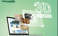 Khách hàng Vietcombank ưa thích tính năng bảo mật thẻ 3D Secure