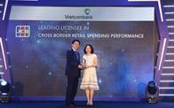 Vietcombank nhận các giải thưởng của Tổ chức thẻ quốc tế JCB