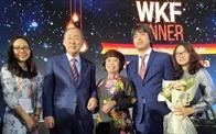 Bà Thái Hương nhận giải thưởng Nữ Doanh nhân quyền lực Asean