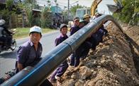 Hà Nội: Xây đường ống cấp nước sạch cho 3 huyện phía Nam